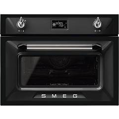 sale Smeg Sf4920vcn1 - Victoria Oven Combi Steam Cm. 60 H 45 - Black