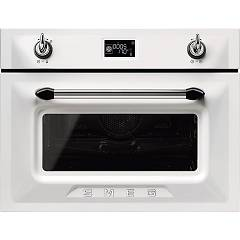 sale Smeg Sf4920mcb1 - Victoria Oven Combi Steam Cm. 60 H 45 - White