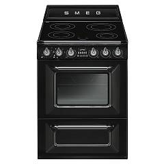 Smeg Tr60ibl Kitchen from accosto cm. 60 black - 1 electric oven + induction certified for the german market Victoria