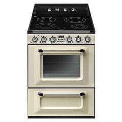 Smeg Tr60ip Kitchen from accosto cm. 60 cream - 1 electric oven + induction certified for the german market Victoria