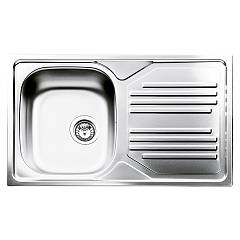 Smeg Lyp861d Sink recessed cm. 86 x 50 stainless steel 1 bowl drip sx + dx Omni