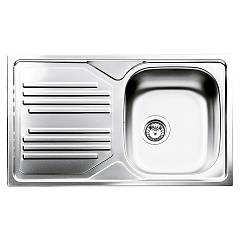 Smeg Lyp861s Sink recessed cm. 86 x 50 stainless steel 1 bowl drip dx + sx Omni