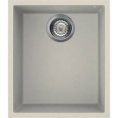 Smeg Vzum40p Sink undermounted cm. 38 - cream 1 basin Quadra