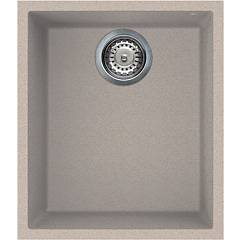Smeg Vzum40av Sink undermounted cm. 38 - oatmeal 1 basin Quadra