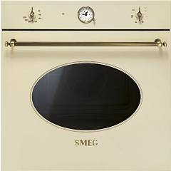 Smeg Sf800po Oven cm. 60 - cream Coloniale
