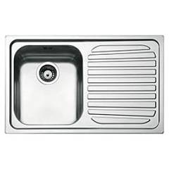 Smeg Sp791d-2 Built-in sink cm. 79 - inox 1 layer left + right drawner Alba