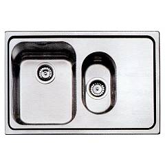 Smeg Sp7915d-2 Built-in sink cm. 79 - 1 bowl and 1/2 right Alba