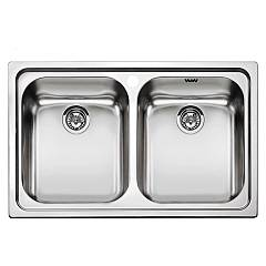 Smeg Sp792-2 Built-in sink cm. 79 - stainless steel 1 bowl and 1/2 Alba