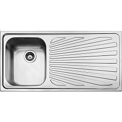 Smeg Sp101d Built-in sink cm. 101 - inox 1 layer left + right drawner Alba