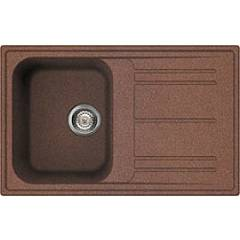 Smeg Lz791ra Built-in sink cm. 79 - copper 1 kopel + drip - reversible Rigae
