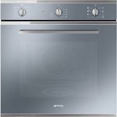 Smeg Sf64m3ds Multifunction oven combined steam cm. 60 - silver glass Selezione