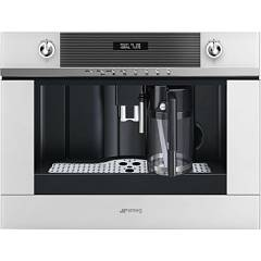 Smeg Cms4101b Built-in coffee machine - white Linea
