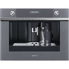 Smeg Cms4101s Built-in coffee machine cm. 60 - stainless steel and silver glass Linea
