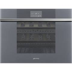 Smeg Cvi118lws2 Wine cellar cm. 59 - 18 bottles - silver glass Linea