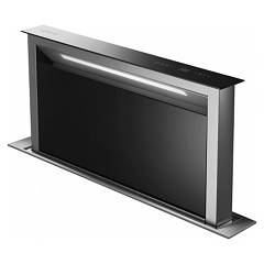 Smeg Kdd90vxne Floor-mounted downdraft hood cm. 90 - stainless steel / black glass