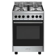Smeg B601gmxi9 Kitchen from accosto cm. 60 x 60 - inox 1 electric oven + 4 burners gas Classica - Opera