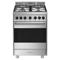 Smeg B61gmxi9 Kitchen from accosto cm. 60 x 60 - inox 1 electric oven + 4 burners gas Classica - Opera