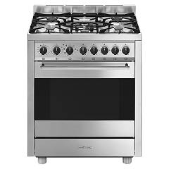 Smeg B71gmxi9 Striking kitchen cm. 70 x 60 - stainless steel 1 electric oven + 5 gas burners Classica - Opera