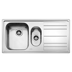 Smeg Le102d-2 Sink cm. 100 - 1 bowl and 1/2 left with dx - stainless steel drip tray