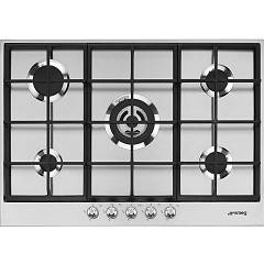 Smeg Px175 Gas hob cm. 70/75 - 5 burners - stainless steel Linea