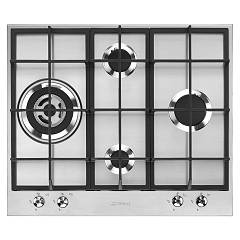 Smeg Px364l Gas hob cm. 60 - 4 burners - stainless steel Classica