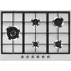 Smeg Px375l Gas hob cm. 70/75 - 5 burners - stainless steel Classica