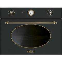Smeg Sf4800mao Microwave oven cm. 60 - anthracite Coloniale