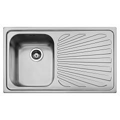 Smeg Apm861d Built-in sink cm. 86 - inox microantigraphy drainer dx Alba