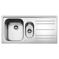 Smeg Leh102d Built-in sink cm. 100 - inox drip dx Rigae