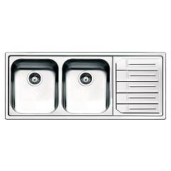 Smeg Lpe116d Built-in sink cm. 116 - inox drip dx Aurora