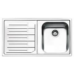 Smeg Lpe861s Built-in sink cm. 86 - inox left dropped Aurora
