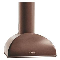 Smeg Ks59rae Wall hood cm. 60 - copper Coloniale