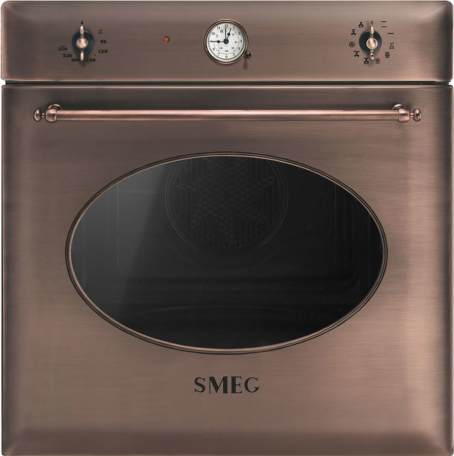 Smeg Coloniale Sf855ra Built In Oven Cm 60 Copper