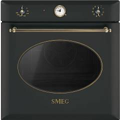 Smeg Sf855ao Built-in oven cm. 60 - anthracite Coloniale