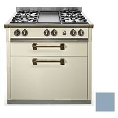 sale Steel Ascot A9c Cooking Centre Professional Cm. 90 - Sky Blue