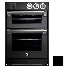 Steel Affe6-s Built-in oven cm. 60 x 90 combined steam - black electric auxiliary oven Ascot
