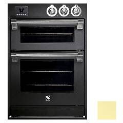 Steel Affe6-s Built-in oven cm. 60 x 90 combined steam - electric auxiliary oven cream Ascot