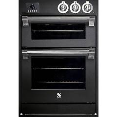 Steel Affe6-s Built-in oven cm. 60 x 90 combined steam - anthracite electric auxiliary oven Ascot