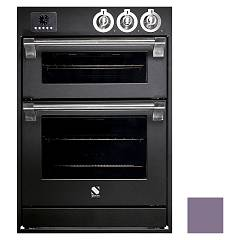 Steel Affe6-s Built-in oven cm. 60 x 90 combined steam - amethyst electric auxiliary oven Ascot