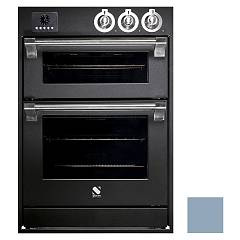 Steel Affe6-s Built-in oven cm. 60 x 90 combined steam - celeste electric auxiliary oven Ascot