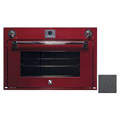 Steel Afe9-s Built-in oven cm. 90 x 60 combined steam - anthracite Ascot