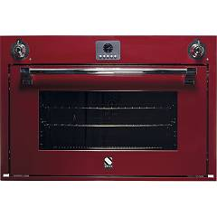 sale Steel Ascot Afe9-s Oven Built-cm. 90 X 60 Combined Steam - Bordeaux