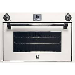 sale Steel Ascot Afe9-s Oven Built-cm. 90 X 60 Combined Steam - Cloud