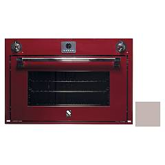 Steel Afe9-s Built-in oven cm. 90 x 60 combined steam - sand Ascot
