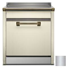 Steel Als-7 Dishwasher block cm. 70 - inox free installation Ascot