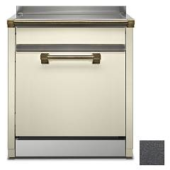 Steel Als-7 Dishwasher block cm. 70 - anthracite free installation Ascot