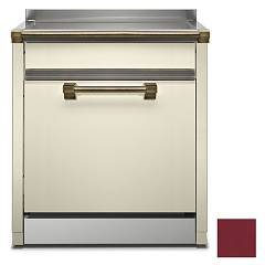 Steel Als-7 Dishwasher block cm. 70 - bordeaux free installation Ascot