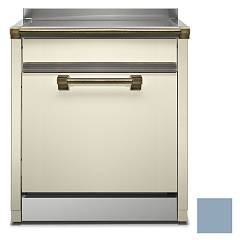 Steel Als-7 Dishwasher block cm. 70 - celeste free installation Ascot