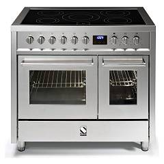 sale Steel Enfasi E10ff Kitchen Cm. 100 - Inox 2 Electric Ovens