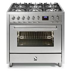 sale Steel Enfasi E9f Kitchen Cm. 90 - Inox 1 Oven